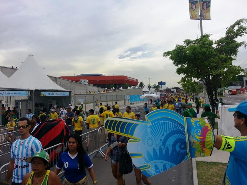 Frente - Arena Amazônia