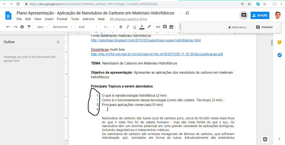 Topicos no Doc do Google Drive.png